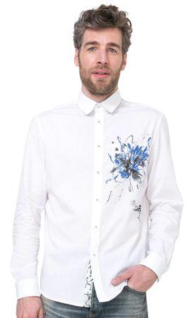 Desigual moška srajca Florlow L bela