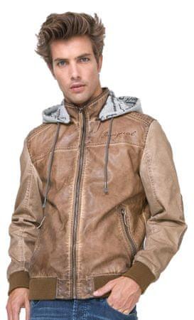 Desigual moška jakna Lorenzo S rjava