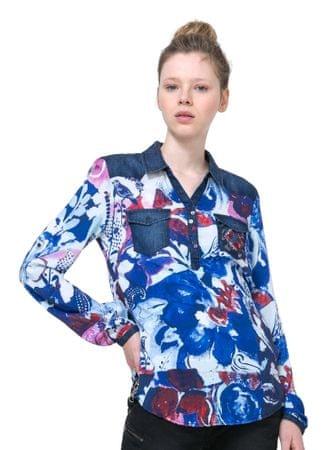 Desigual ženska bluza Mila M modra