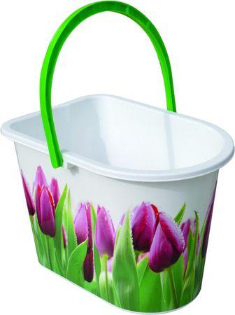 York Tulipános Vödör 14l