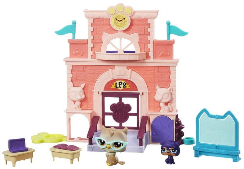 Littlest Pet Shop Hrací set se 2 zvířátky Školní den