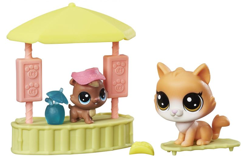 Littlest Pet Shop Tematický set Tiki Treats