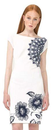 Desigual dámské šaty Melisa XS biela