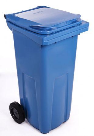 J.A.D. TOOLS odpadkový kôš 240 l modrý plastový