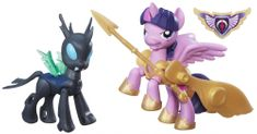 My Little Pony Guardians of harmony Sparkle vs Changeling