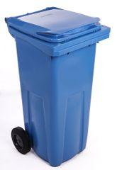 J.A.D. TOOLS plastikowy kosz na odpadki 120 l niebieski