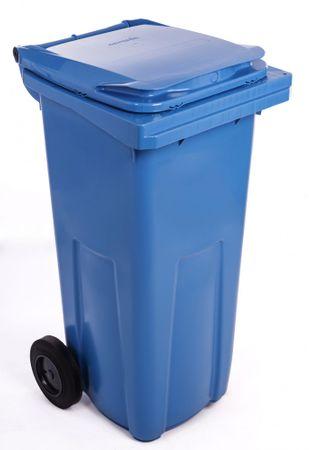J.A.D. TOOLS smetnjak 120 l, modra plastika