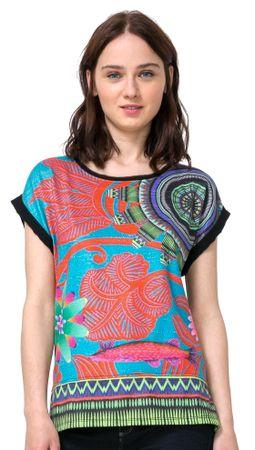 Desigual ženska majica XS večbarvna