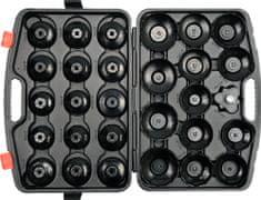 YATO zestaw kluczy nasadowych do filtrów oleju, 30 elementów (YT-0596)