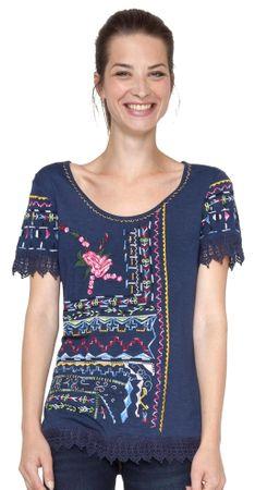 Desigual ženska majica S modra