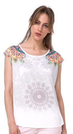 Desigual dámské tričko L biela