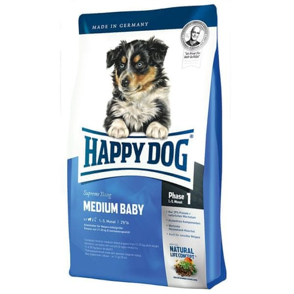 Happy Dog Medium Baby 10 kg