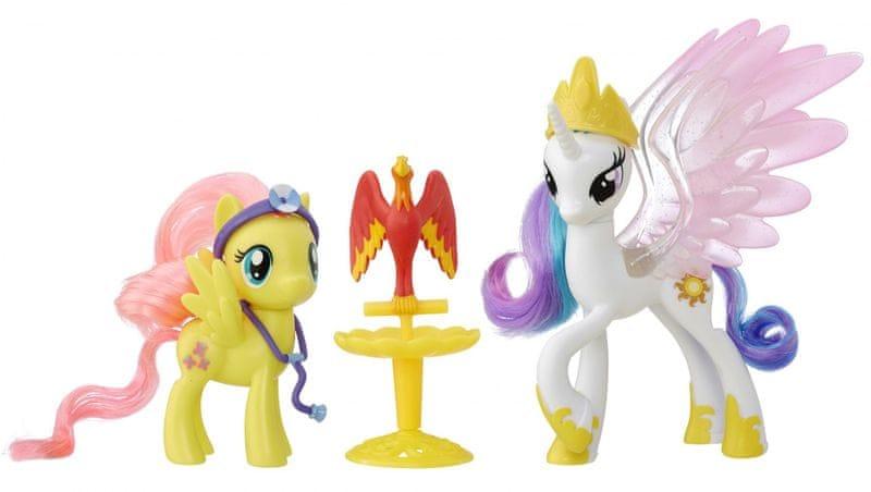 My Little Pony Set dvou poníků s doplňky Princess Celestia
