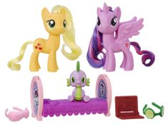 My Little Pony Zestaw koników Twilight Sparkle i Applejack B9850