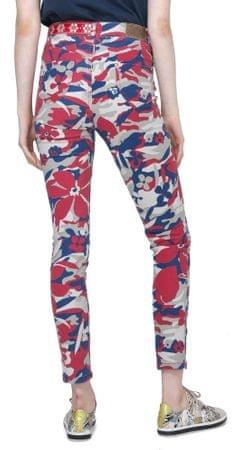 Desigual dámské kalhoty Skinny Camo 34 vícebarevná  a54d98905f7