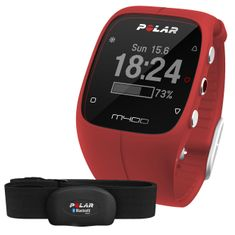 Polar športna ura M400 HR, rdeča