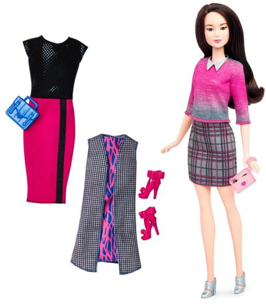 Mattel Barbie Modelka Chic with a Wink