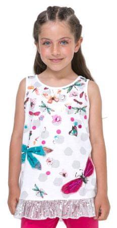 Desigual dekliška majica Arizona 152 bela