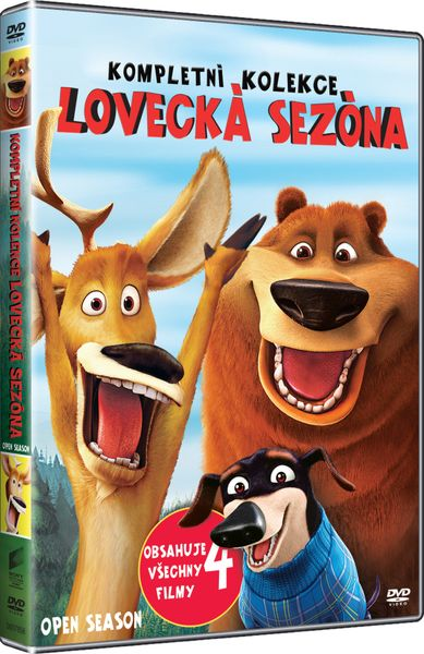 Kolekce Lovecká sezóna 1- 4 - DVD