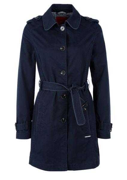 s.Oliver dámský kabát 36 tmavě modrá