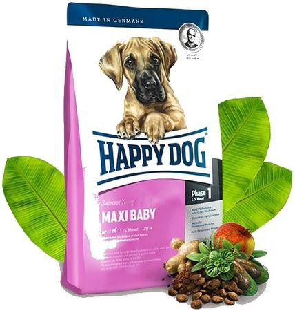 Happy Dog suha hrana za mladiče Maxi Baby, 15 kg