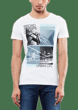s.Oliver pánské tričko L biela