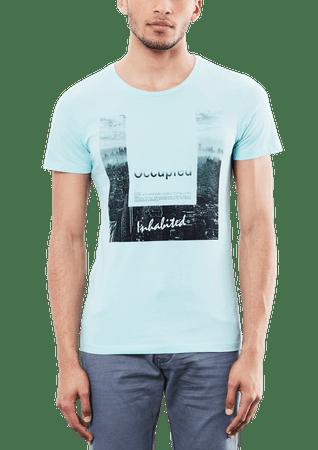 s.Oliver pánské tričko XL tyrkysová