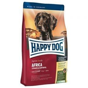 Happy Dog suha hrana za odrasle pse srednjih in velikih pasem Africa, 12.5 kg