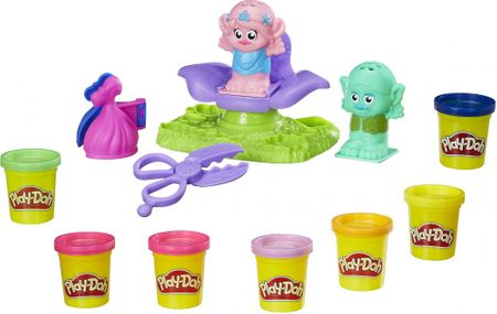 Play-Doh Trolls vlasový salon