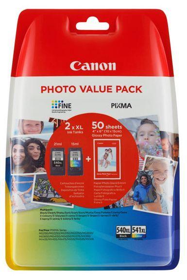 Canon PG-540XL / CL-541XL + 50x GP-501 (5222B013), barevná