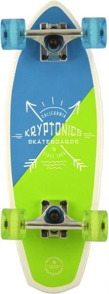 "Kryptonics Mini Fat Cruiser Summer Dip 23"""