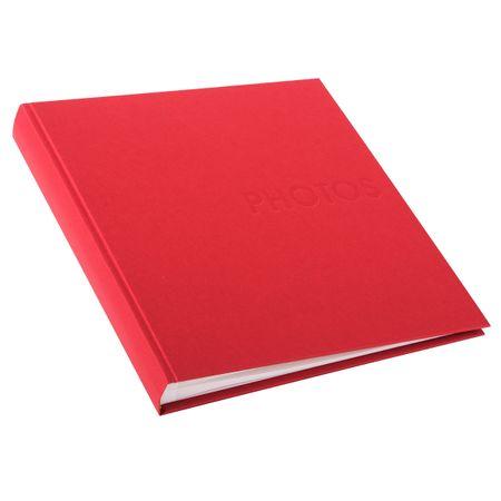 Goldbuch foto album Seda 30x31, 60 strani, rdeč