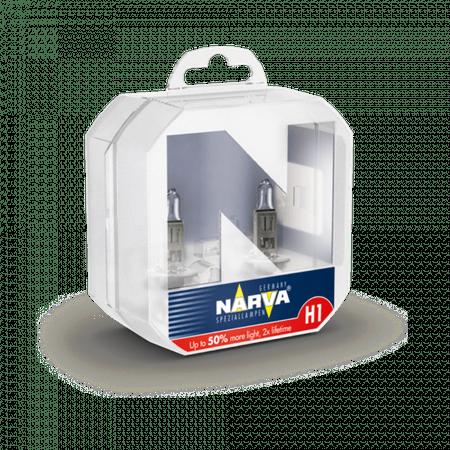 Narva par žarnic 12V-H1-55 W Range Power