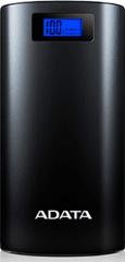 Adata P20000D Powerbank, 20000mAh, LED svítidlo, černá AP20000D-DGT-5V-CBK
