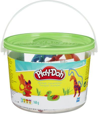 Play-Doh Wiaderko kreatywności ze zwierzątkami