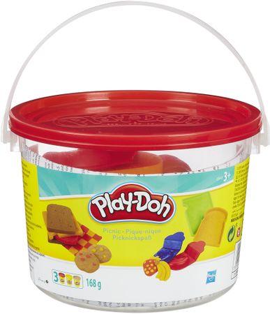 Play-Doh set v vedru - piknik