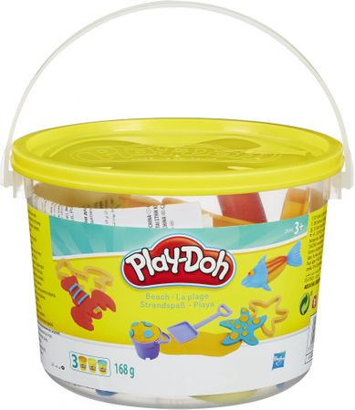 Play-Doh set v vedru - plaža