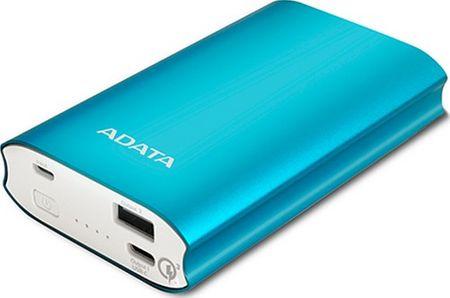 A-Data Powerbank 10050 Blue (AA10050QC-USBC-5V-CBL)