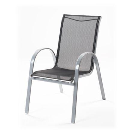 RIWALL Vera - hliníková stohovatelná židle