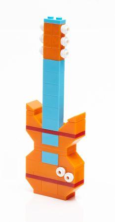MEGA BLOKS Mega Construx Vibrant střední box kostek
