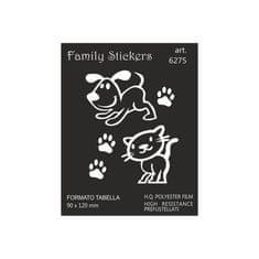nalepka Family Pets 9x12cm (6275)
