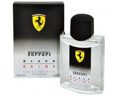 Ferrari Black Shine - toaletná voda s rozprašovačom 125 ml
