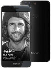 Honor 8, Dual SIM, 4GB/32GB, Midnight Black