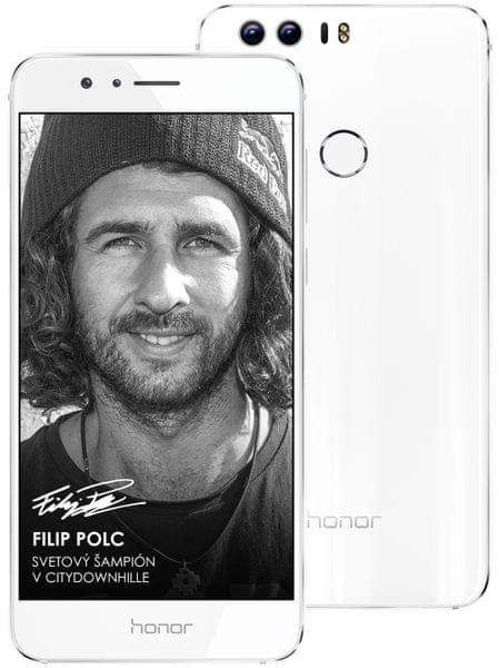 Honor 8, Dual SIM, 4GB/32GB, Pearl White