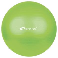 Spokey Gimnasztika labda pumpával, Zöld, 75 cm