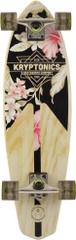 """Kryptonics Longboard Mini Longboard Classic Floral 32"""""""
