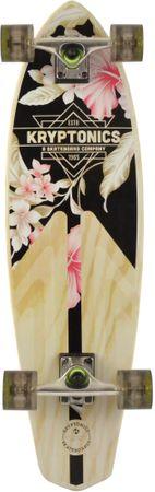 """Kryptonics rolka Mini Longboard Classic Floral 32"""""""