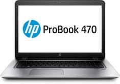 HP prenosnik ProBook 470 G4 i5-7200U/8GB/1TB/17,3HD+/GF930MX/DOS (Y8A84EA)