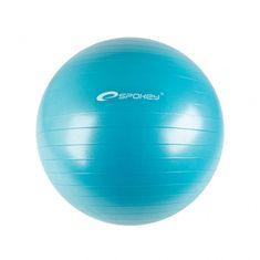 Spokey Gimnasztika labda pumpával, Kék, 75 cm