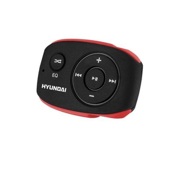 Hyundai MP 312, 8 GB, černá/červená